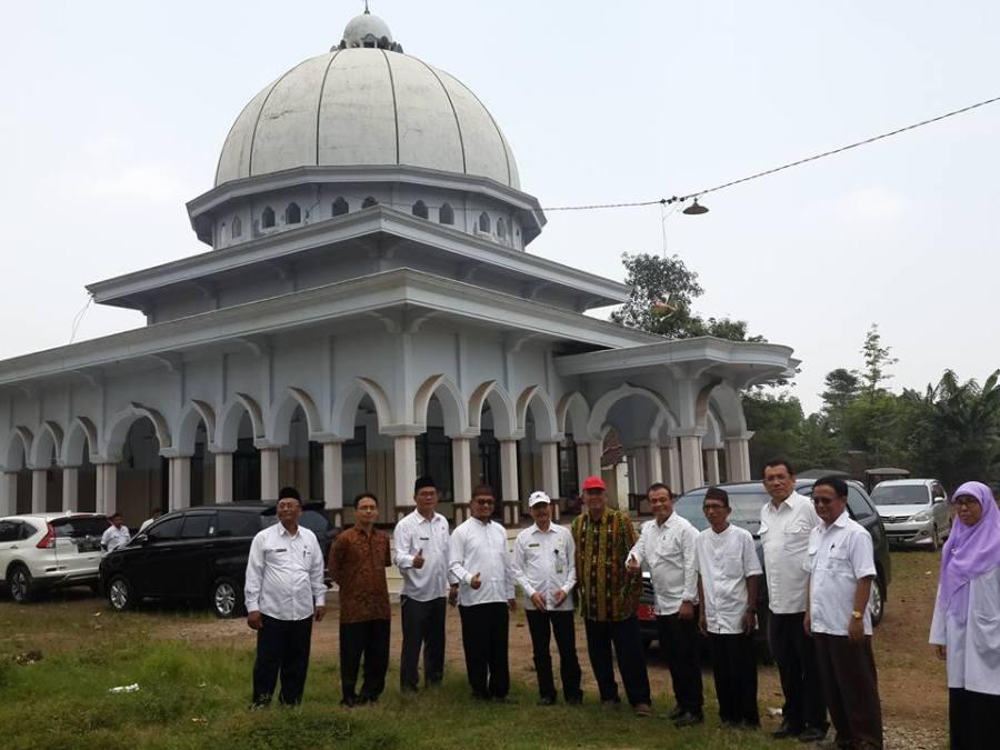 Kanwil Kemenag Jatim Bersama BWI Jawtim Survey Lokasi Wakaf Tol Paspro